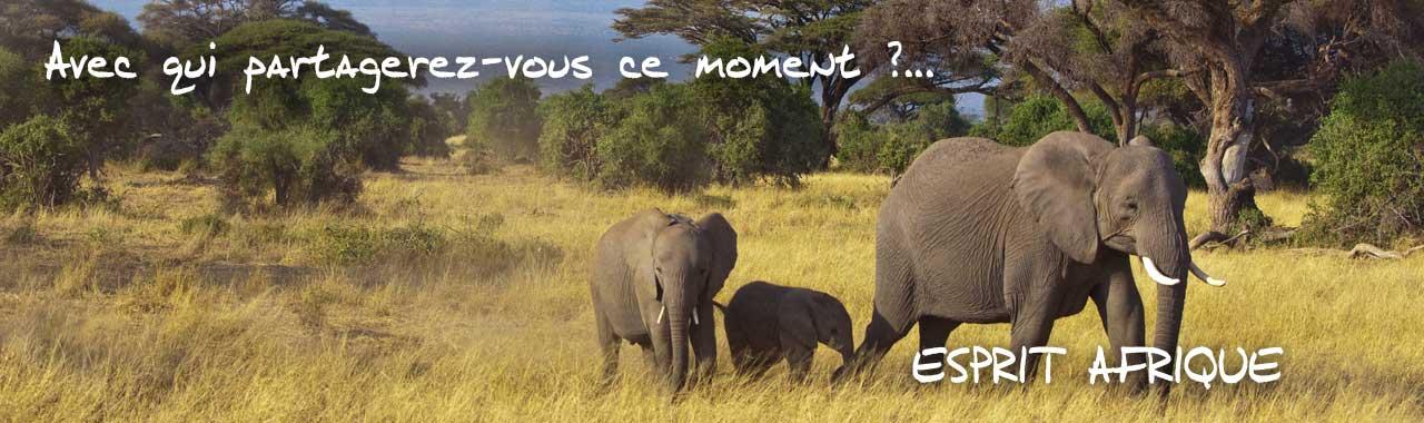 paysage d'Afrique - Avec qui partagerez-vous ce moment? Esprit Pionnier vous accompagne dans la conception sur mesure de votre voyage en Afrique.