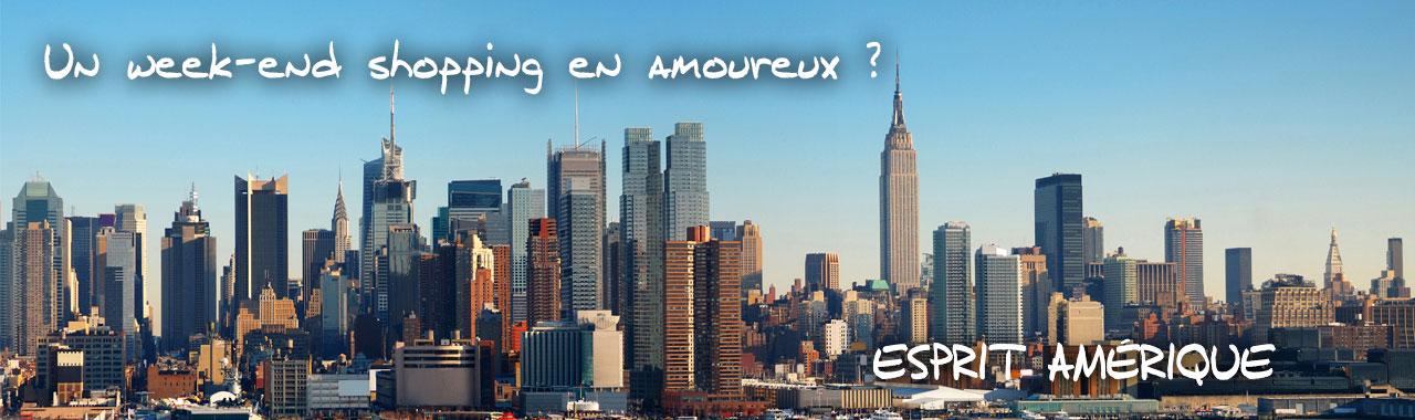 Ville États Unis – Un week-end shopping en amoureux? Esprit Pionnier, spécialistes du voyage sur mesure.