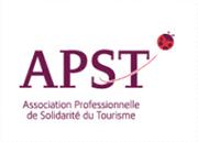 logo apst association professionnelle de solidarité du tourisme