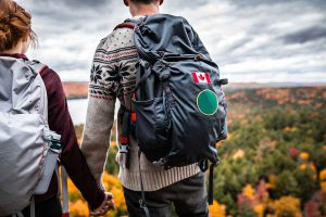 voyage canada backpack