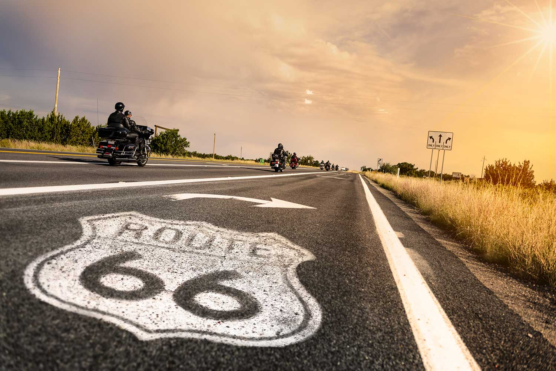 Image de l'article : Partez à l'aventure en moto sur la mythique Route 66 - Esprit Pionnier