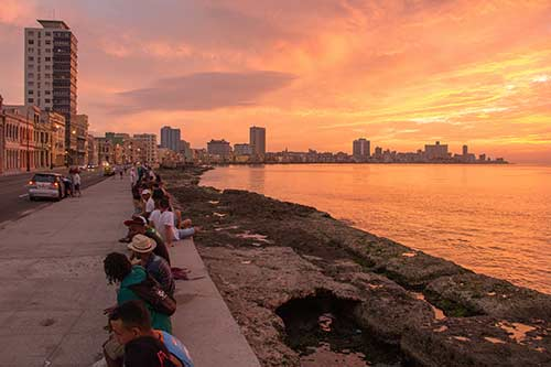Malećon Cuba