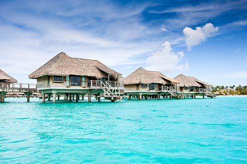 Image de l'article : L'amour sur pilotis à Bora Bora - Esprit Pionnier